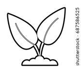 leaf ecology symbol