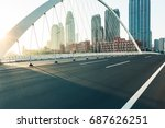 tianjin downtown cityscape seen ... | Shutterstock . vector #687626251