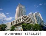 tokyo  japan   may 4 2017  the...   Shutterstock . vector #687631594