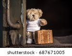 Teddy Bear With Suitcase Says...