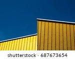 concert hall berlin detail | Shutterstock . vector #687673654