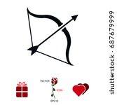 cupid icon  vector best flat...   Shutterstock .eps vector #687679999