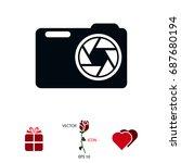 photo camera icon  vector best...