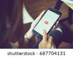 bangkok  thailand   august 01 ... | Shutterstock . vector #687704131