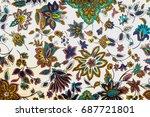texture  pattern  background.... | Shutterstock . vector #687721801