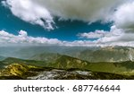 specular  landscape view in... | Shutterstock . vector #687746644