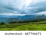 specular  landscape view in... | Shutterstock . vector #687746671