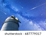 a view of the stars of the... | Shutterstock . vector #687779317