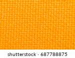 macro of fabric weave texture...   Shutterstock . vector #687788875