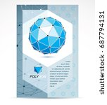 computer technologies creative... | Shutterstock .eps vector #687794131