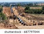 Construction Of Gas Pipeline...