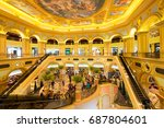 macau china   apr 22 2017  the... | Shutterstock . vector #687804601