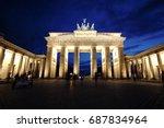 Berlin Brandenburger Tor At...