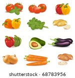 the big colorful group of... | Shutterstock .eps vector #68783956