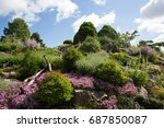 botanical garden | Shutterstock . vector #687850087