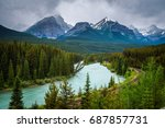 iconic morant's curve in bow... | Shutterstock . vector #687857731