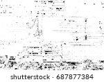 grunge texture background... | Shutterstock .eps vector #687877384