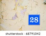 vintage background  number...   Shutterstock . vector #68791042