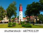 baltijsk  russia   july 30 ... | Shutterstock . vector #687931129