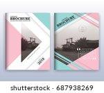 multipurpose modern corporate... | Shutterstock .eps vector #687938269