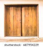 Old Wooden Swing Door...