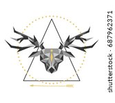 vector illustration of a...   Shutterstock .eps vector #687962371
