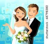 wedding   Shutterstock .eps vector #68798380