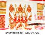 buddhist shrine  thailand. | Shutterstock . vector #68799721
