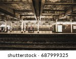 High Street Kensington Station...