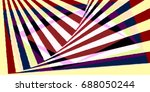 simple but complex color block  ... | Shutterstock . vector #688050244