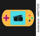 cash simple vector icon....