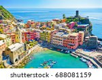 view of the beautiful seaside... | Shutterstock . vector #688081159
