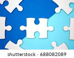 leadership business concept  ...   Shutterstock . vector #688082089