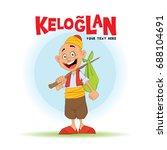 keloglan turkish tale...   Shutterstock .eps vector #688104691