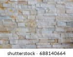 pattern of grey and rough... | Shutterstock . vector #688140664