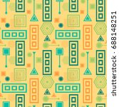 abstract seamless pattern from... | Shutterstock .eps vector #688148251