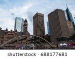 toronto   july 19  2015  ...   Shutterstock . vector #688177681