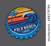 Bottle Cap Palm Beach Florida...
