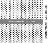 vector abstract geometric...   Shutterstock .eps vector #688181881