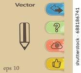 pencil. icon