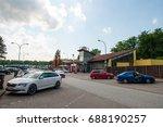 buddikate germany   may 28 2017 ...   Shutterstock . vector #688190257