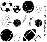 sport ball vector