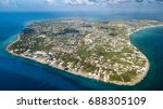 aerial view of grand cayman... | Shutterstock . vector #688305109