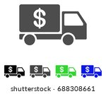 cash delivery flat vector... | Shutterstock .eps vector #688308661