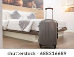 luggage in the hotel room | Shutterstock . vector #688316689