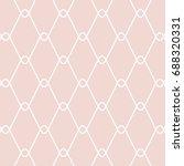 art deco background. | Shutterstock .eps vector #688320331