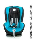 baby car seat  blue color ... | Shutterstock . vector #688324681