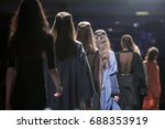 fashion show  catwalk event ... | Shutterstock . vector #688353919