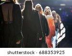 fashion show  catwalk event ... | Shutterstock . vector #688353925
