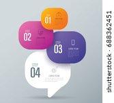 infographics design vector and...   Shutterstock .eps vector #688362451